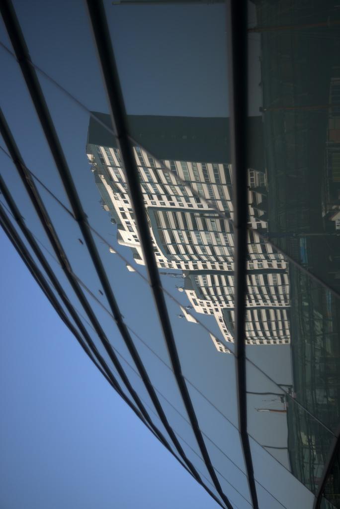 #277 Meyer Görlitz Diaplan f2.8 60mm – Fassade Klimahaus in Bremerhaven