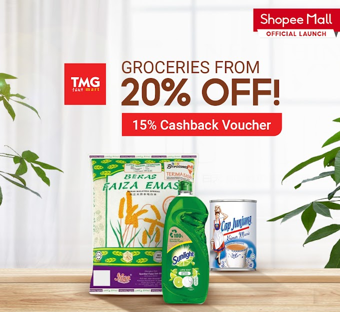 East Coast Retail Powerhouse TMG Mart is now on Shopee