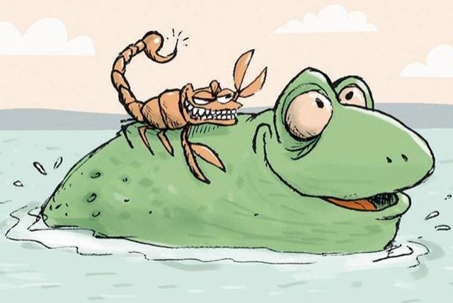 Reinaldo Azevedo quer impedir que o escorpião demonstre sua natureza