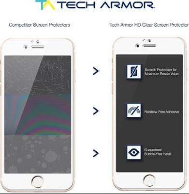 Tech Armor Merk Tempered Glass Terbaik