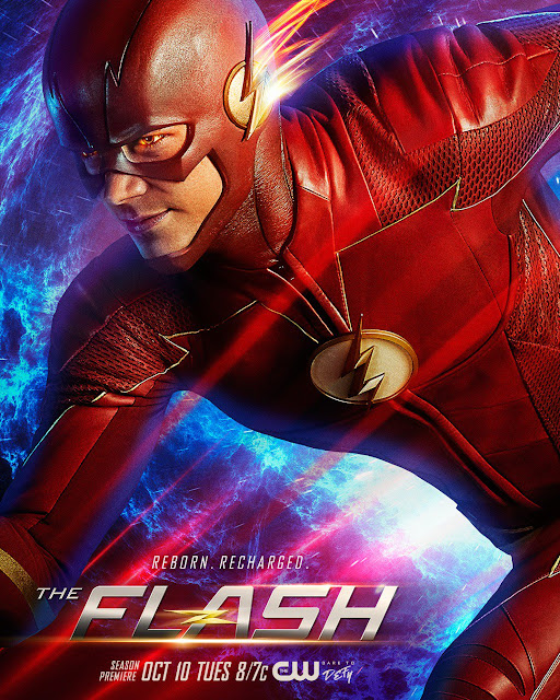 "Primer póster de la cuarta temporada de ""THE FLASH"" - DC Comics"