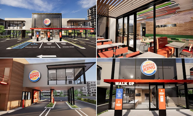 Burger King New Concept Store Design