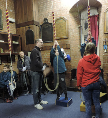 st marys church fratton portsea bellringers room