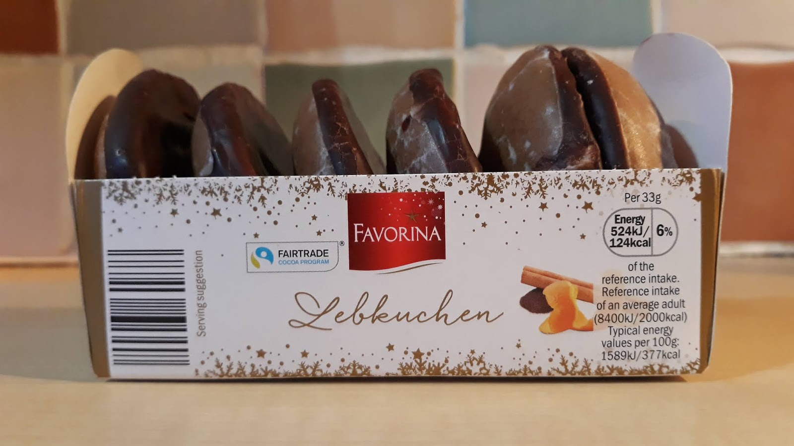 Lidl Favorina Lebkuchen Disks Review Our Delicious Dish