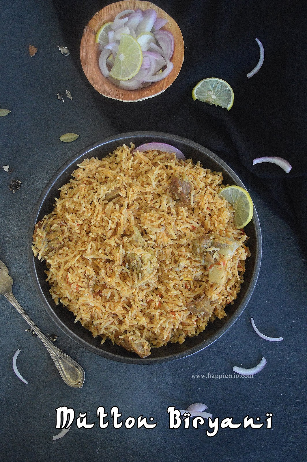 Mutton Biryani Recipe | How to cook Mutton Biryani in Pressure Cooker