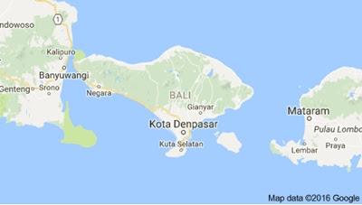 peta pulau bali baru