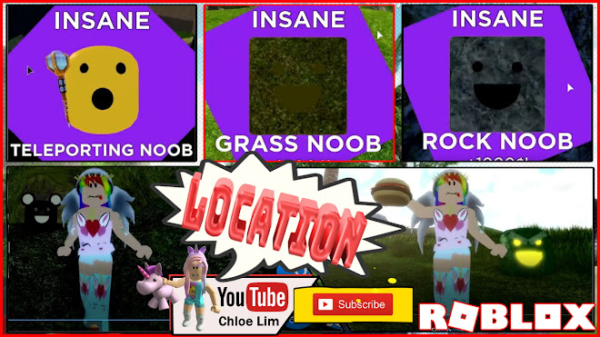 Roblox Find the Noobs 2 Gameplay! Wild Jungle! All 59 Noobs Locations! See Desc!