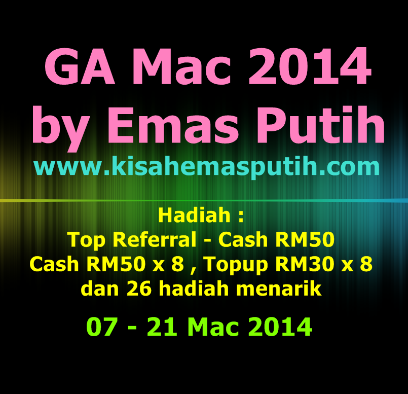 GA March 2014 By Emas Putih