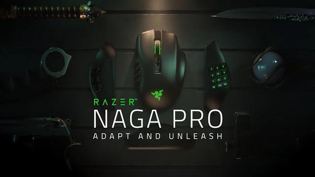 ADAPT TO ANY GAME WITH THE NEW RAZER NAGA PRO