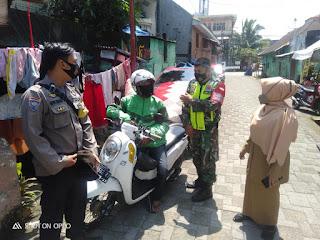 Tiga Pilar Kelurahan Mampu Edukasi Prokes 3M di pemukiman  Warga diwilayah Polres Pelabuhan Makassar