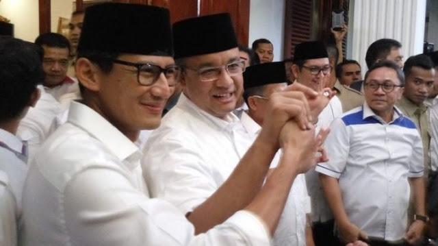 Anies: Pak Basuki dan Pak Djarot Adalah Putra Terbaik Bangsa Indonesia