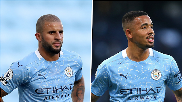 Manchester City Stars, Kyle Walker and Gabriel Jesus tested positive for COVID-19.