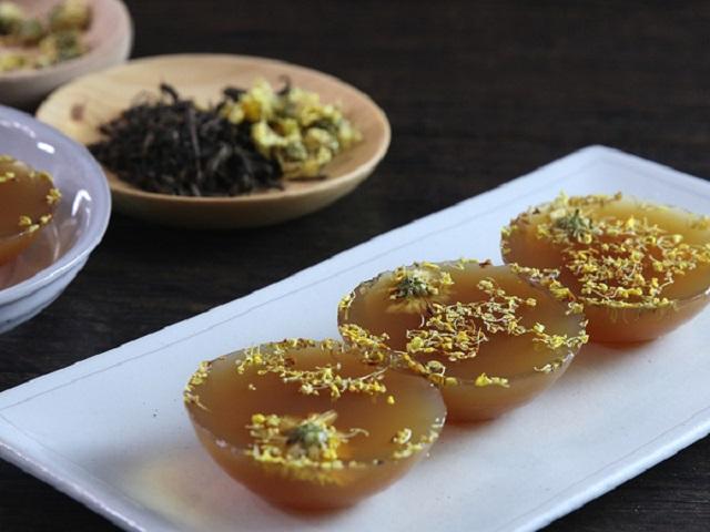 Thạch trà hoa cúc