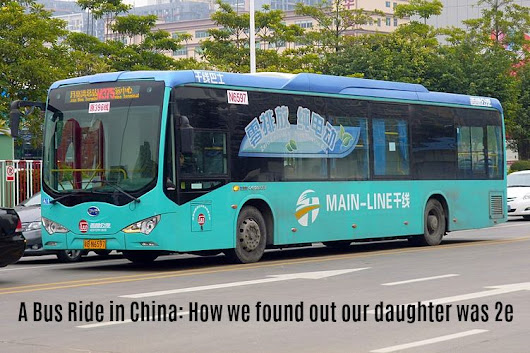 A Bus Ride in China - How we found out our daughter was 2e