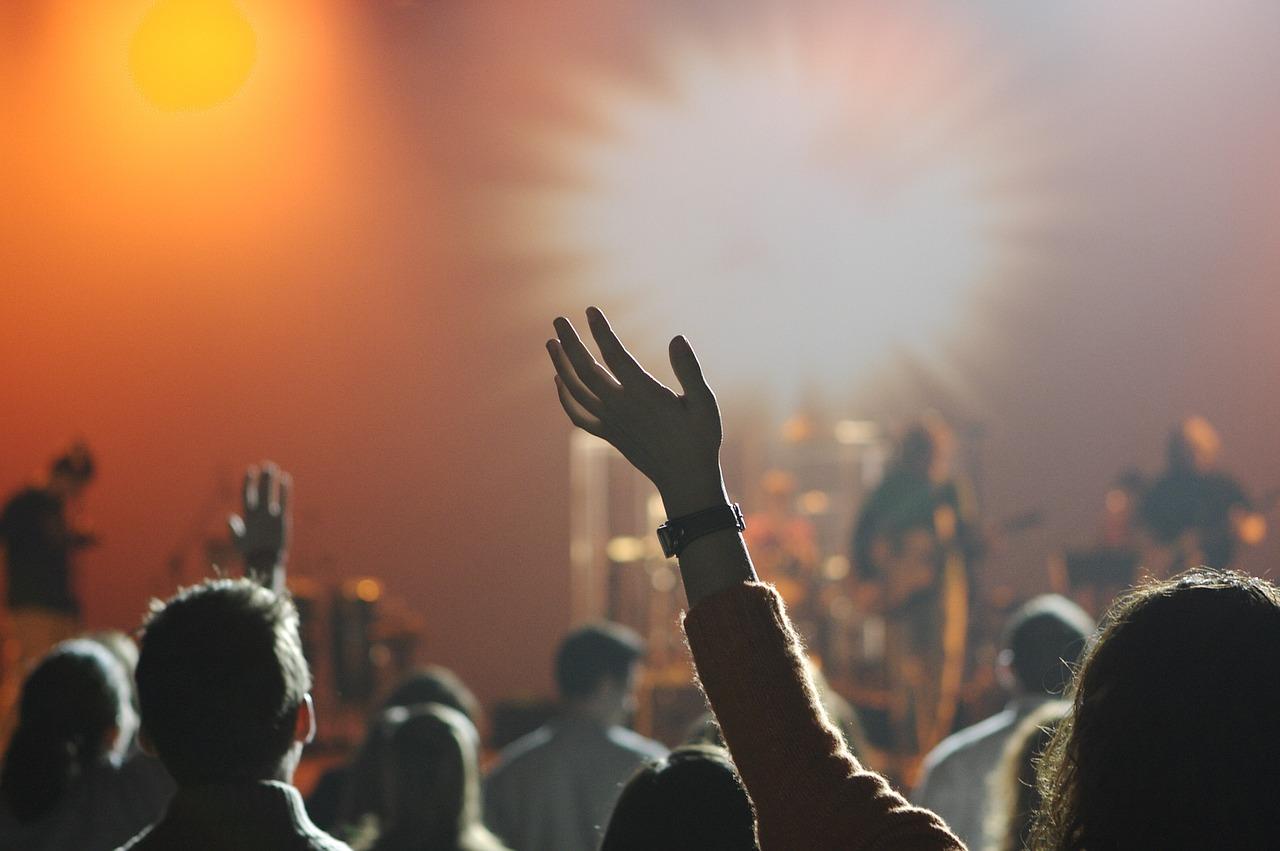 penonton konser