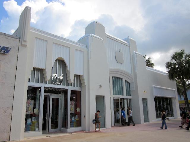 Lojas da Apple em Orlando e Miami