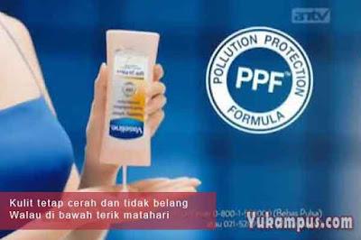 contoh iklan vaseline