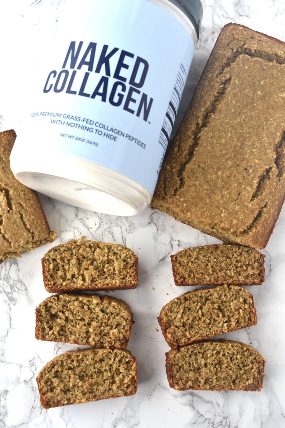 Collagen Peptides Banana Bread