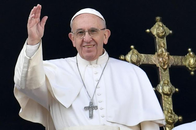 Image result for Pope Francis calls for change in 'The Lord's Prayer'