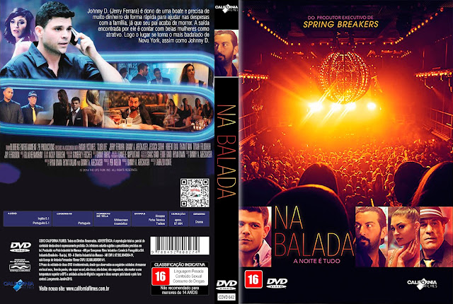 Capa DVD Na Balada [Custom]