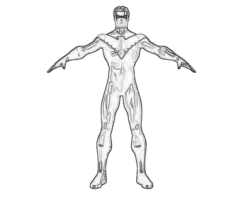 batman robin nightwing red hood drawing sketch coloring page