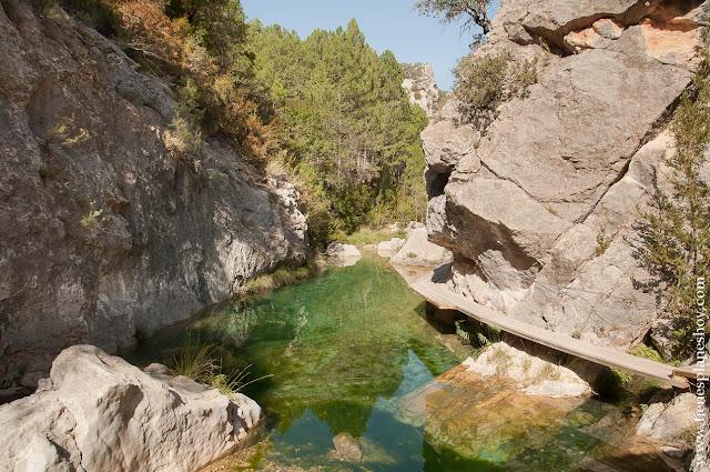 Comarca del Matarraña senderismo ruta Teruel Beceite parrizal escapada viaje