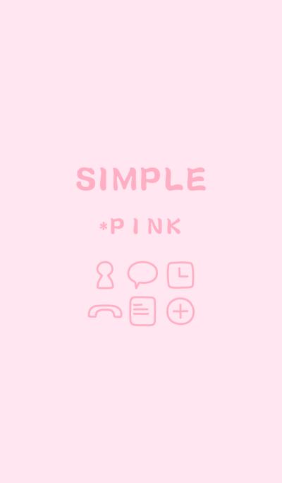 SIMPLE*pink*