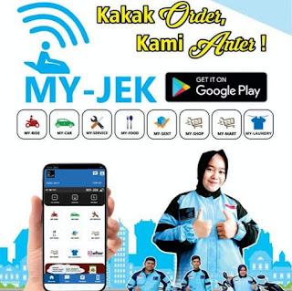 Aplikasi Ojek Online MY-JEK Makin Eksis di Solok, Miliki 5.930 User, 103 Driver dan 74 Mitra