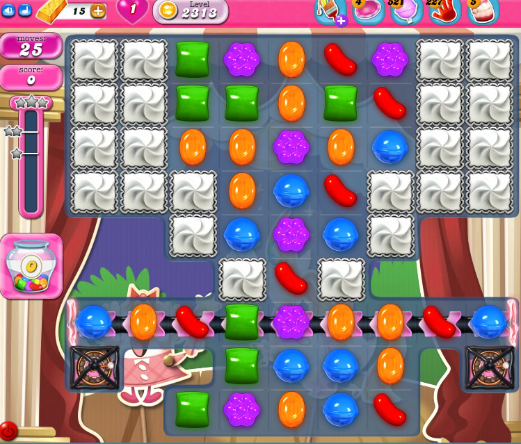 Candy Crush Saga level 2313