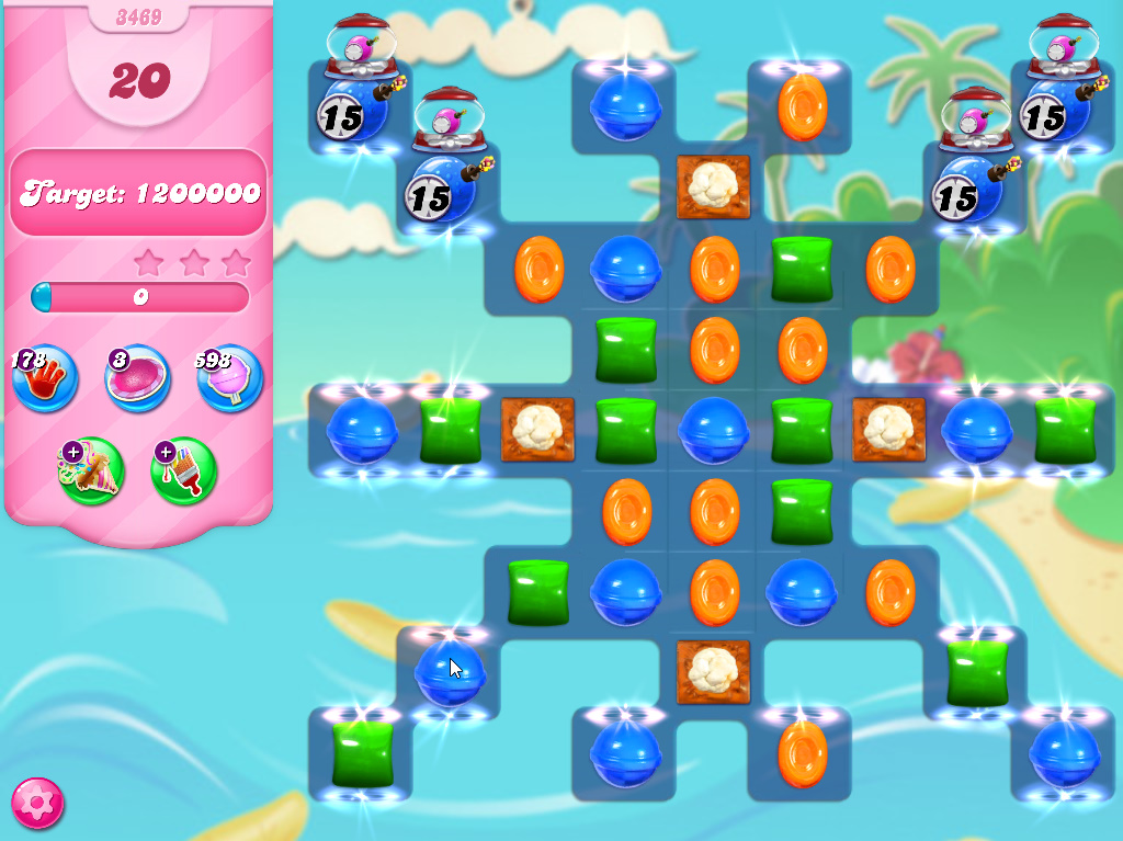 Candy Crush Saga level 3469