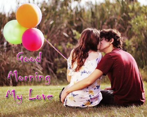 Love Good Morning Kiss Wallpaper : Love Images With: Good Morning love images, Messages and ...