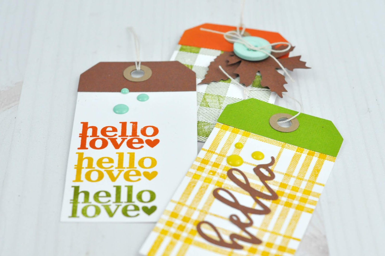 Autumn stamped tags with Echo Park Paper stamps and dies. Jen Gallacher stamps fall tags. #cardmaker #sizzix #echoparkpaper #stamping