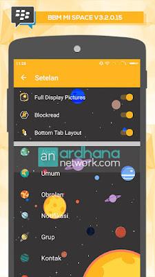BBM Mi Space