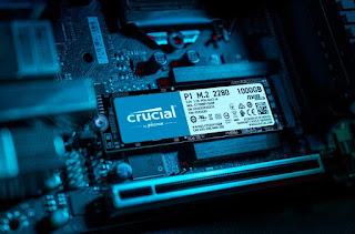 Crucial 1TB, M.2 SSD
