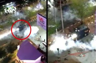 Viral Video Mobil Polisi Lindas Seseorang di Makassar