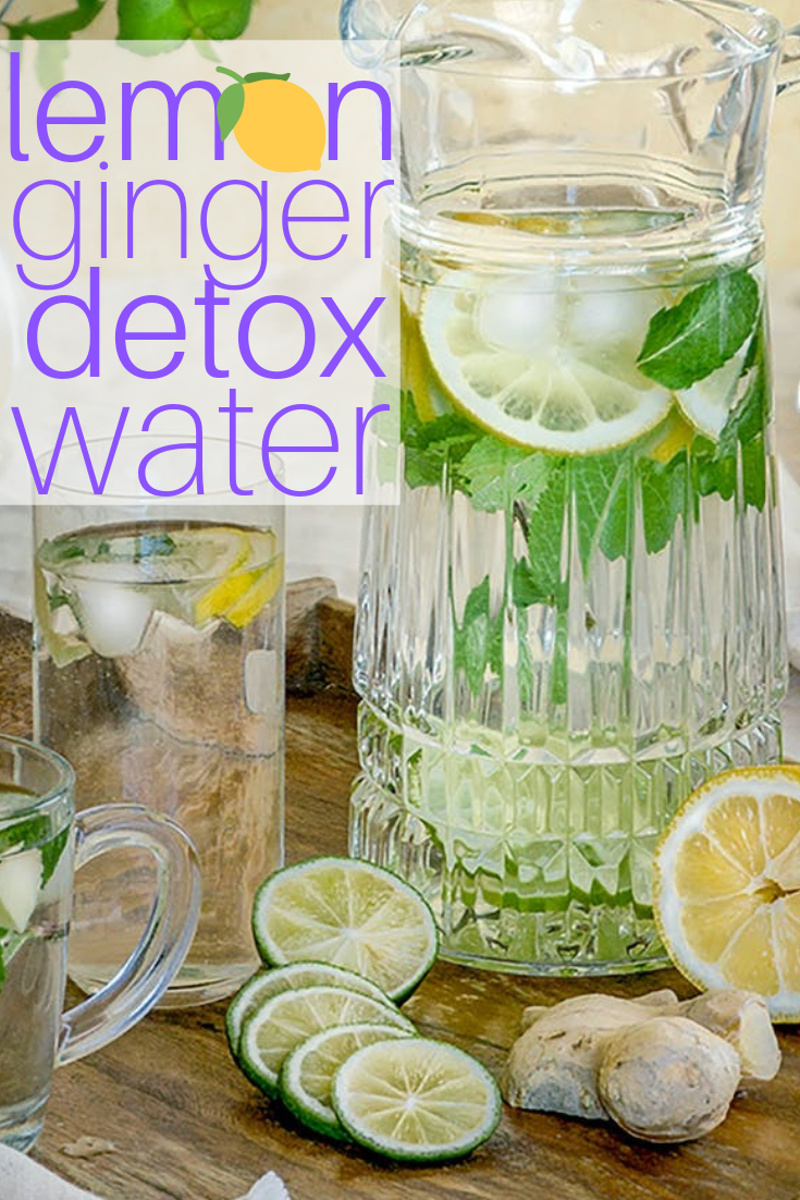 Lemon Ginger Detox Water Recipe