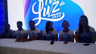 Em grande estilo prefeito Marcus Diogo apresenta atrações da festa da Luz 2020