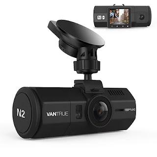 $95, Vantrue N2 1080p Dual Dash Cam
