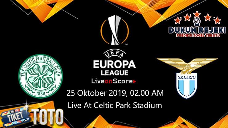 Prediksi UEFA Champions Celtic vs Lazio 25 Oktober 2019
