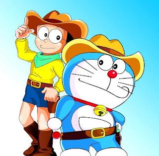 Gambar Doraemon dan Nobita Lucu 2