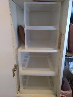 食品庫の整理と備蓄の見直し