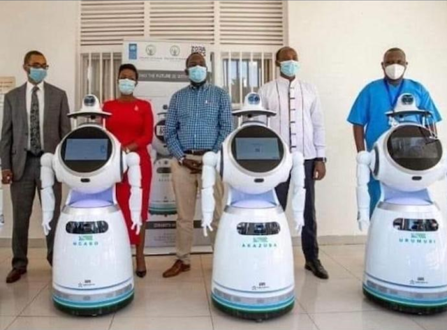 COVID-19: Rwanda receives  Robots That Can Test '150 People Per Minute