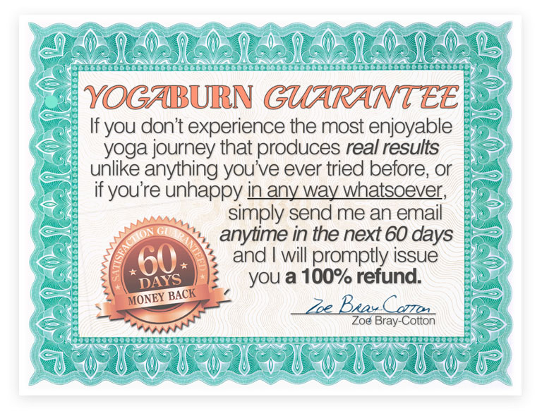 YOGABURN Helping Women Get Lighter, Healthier and Happier Yoga System For Women