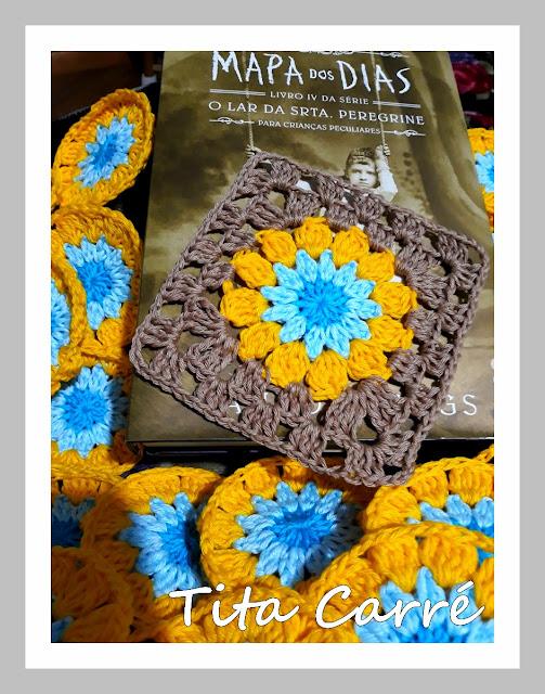 Squares em crochet - O que irá sair?