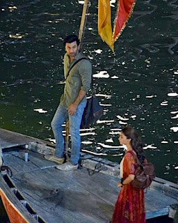 Varanasi Snapped Movie Shooting for Brahmastra