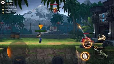 تحميل لعبة الاكشن والاثارة Garena Contra: Return النسخة المهكرة