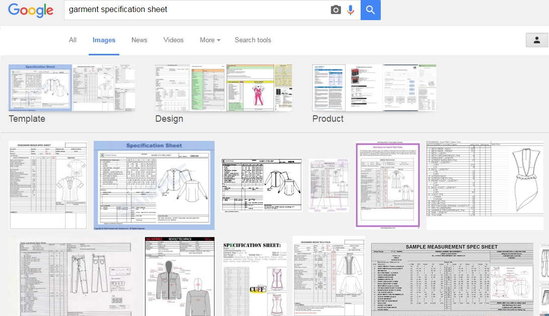 8 Resources to Learn about Garment Specification Sheet and Template ...
