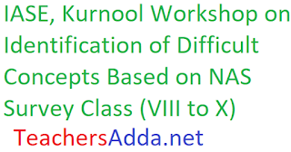 Difficult Concepts of Maths, PS, BS, SS Class VIII to X by IASE, Kurnool