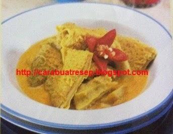Foto Gulai Babat Ala Restoran Sederhana Padang