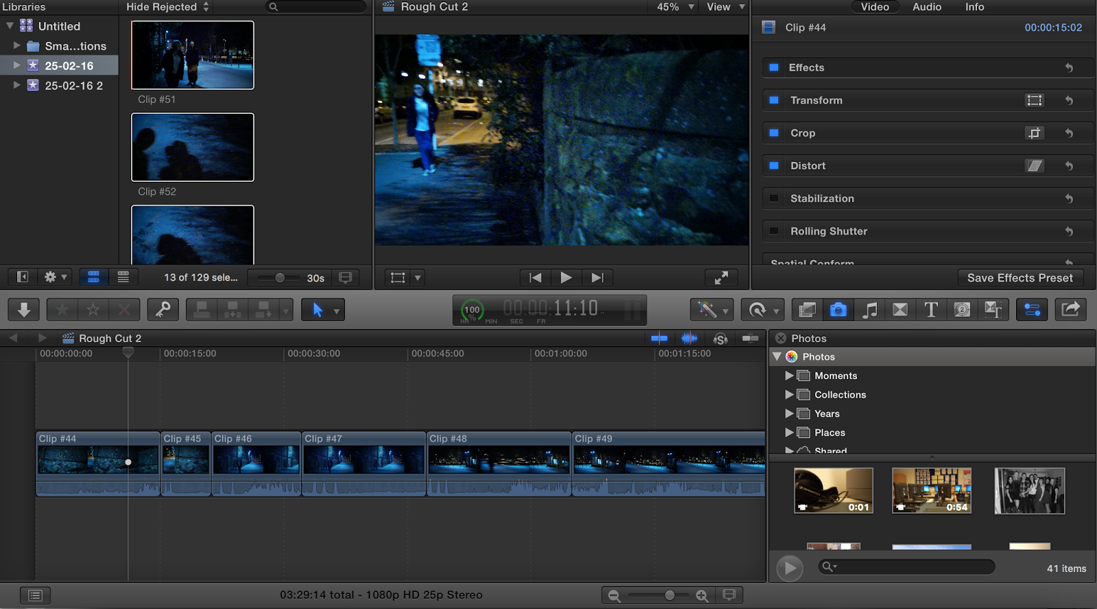 We Used Final Cut Pro X Because It Offers A Lot Of Diffe Opportunities And Varieties In Terms Editing With The Use Were Able To